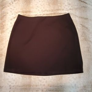 The Limited Black Darted Midi Skirt Size 14